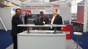 Sonata Software Team at TTE (L to R - Rakesh, Anterson and Konrad)